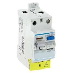 Hager Interrupteur différentiel 30mA 63 A type AC