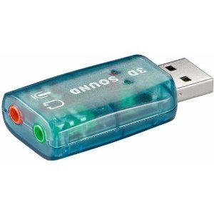Cabling ZA-A27 - Carte son USB externe 5.1 3D Sound