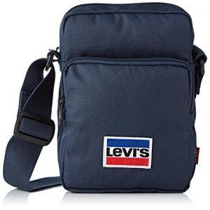 Levi's Homme L Series Small Cross Body Sportswear Cabas et pochette Bleu
