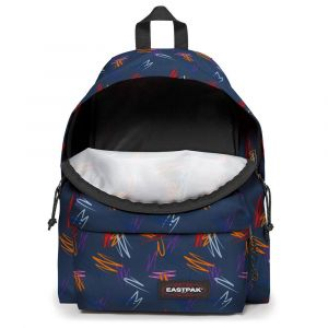 Eastpak Sac à dos Padded Pak'r EK620 Authentic Scribble Urban bleu