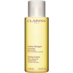 Clarins Lotion Tonique Camomille sans alcool - Peaux normales ou sèches - 200 ml