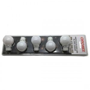 Leblanc Blister 5 ampoules led B22 blanc chaud - ILLUMINATION