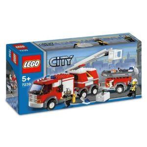 Lego 7239 - City : Le camion des pompiers