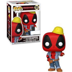 Funko Figurine Pop Exclusive ! Marvel : Deadpool 30th - Construction Worker