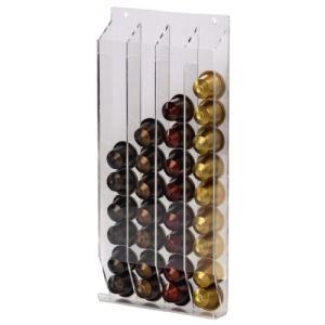 Xavax 00111154 - Distributeur Acrilico transparent pour 40 capsules Nespresso