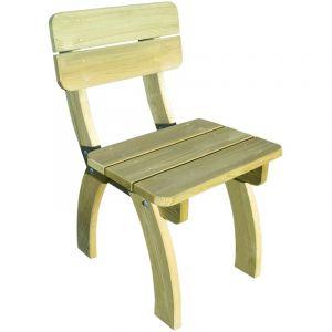 VidaXL Chaise de jardin en bois pin imprégné