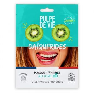 Pulpe de vie Daïqui'rides - Masque 1ères rides au kiwi bio