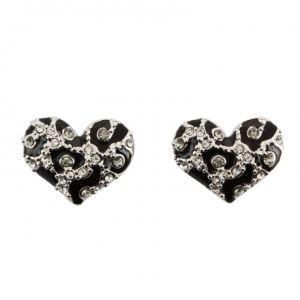Guess UBE51418 - Boucles d'oreilles en métal argenté