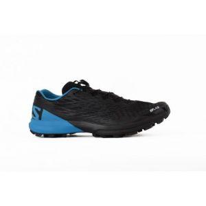 Salomon S/Lab XA Amphib, Chaussures de Trail Mixte Adulte, Noir (Black/Transcend Blue/Racing Red 000), 42 2/3 EU