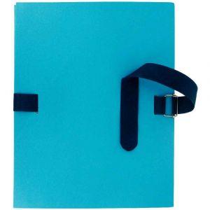 Chemise A Dos Extensible Avec Sangle, Qualite Toilee, Bleu