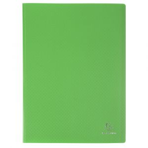 Exacompta 8883E - Protège-documents A4 160 vues OPAK, polypro coloris vert clair