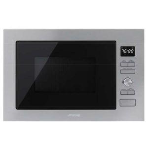 Smeg FMI025X - Micro-ondes encastrable gril