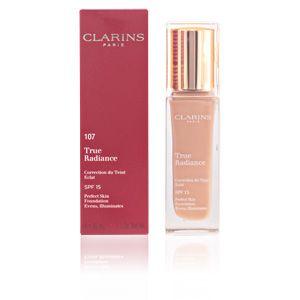 Clarins True Radiance 107 Beige - Correction du teint éclat SPF 15