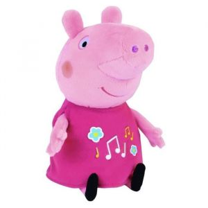 Peluche Peppa Pig musicale & lumineuse