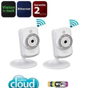 D-link DCS-942LX2 - Pack de 2 caméras IP sans fil DCS-942L