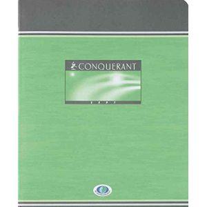 Conquerant 100100374 - Cahier Sept Brouillon piqué 170x220 48p./24 feuilles 56g/m², Séyès