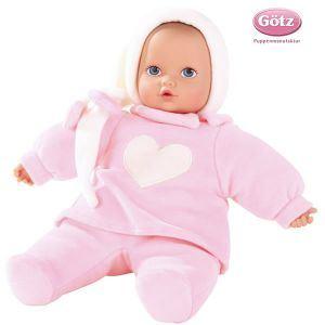 Gotz Poupon Baby pure rose coeur (33 cm)