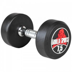 Gorilla Sports Dumbbell 7,5 kg - Haltère poids