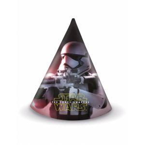 6 chapeaux de fête Star Wars VII