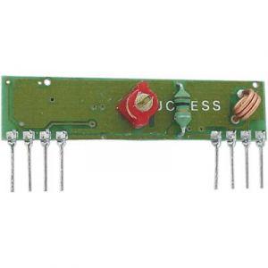 Velleman Module récepteur 433 MHz kit monté alim 4.5 5.5 V/DC Portée max. (en champ libre) 200 m RX433N