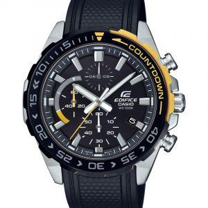 Casio Montre EFR-566PB-1AVUEF - EDIFICE EFR-566 Lunette Compte à rebours Homme