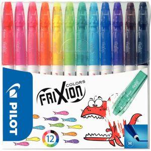 Pilot FriXion Colors - Pochette de 12 feutres effaçables
