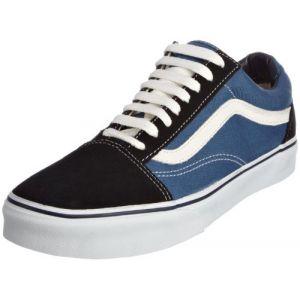 Vans U Old Skool, Baskets mode mixte adulte - Bleu (Navy), 34.5 EU