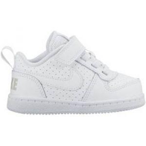 Nike Chaussure Court Borough Low pour Bébé et Petit enfant - Blanc - Taille 23.5 - Unisex
