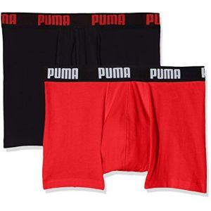 Puma Boxers Boxer Homme Basic Boxer 2p Multicolor - Taille EU M,EU L,EU XL