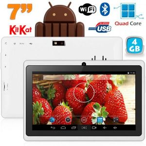 """Yonis Tablette tactile 7"""" 4 Go sous Android 4.4 KitKat"""