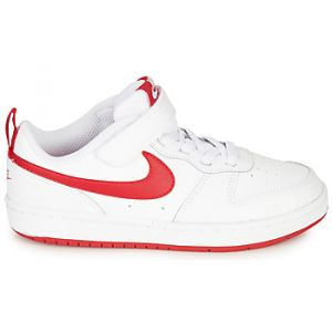 Nike Chaussures enfant COURT BOROUGH LOW 2 PS blanc - Taille 25,26,27,28,30,31,32,33,34,35,23 1/2,27 1/2,28 1/2,29 1/2