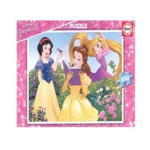 Educa Princesses Disney, Blanche-Neige, Belle et Raiponse - Puzzle 100 pièces