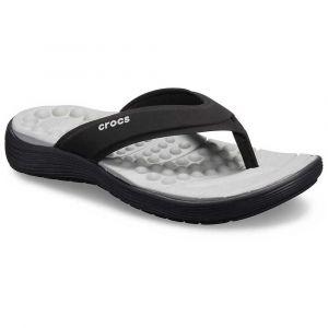 Crocs Tongs REVIVA FLIP W Noir - Taille 36 / 37,42 / 43,39 / 40