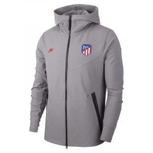 Nike Sweat à capuche et zip Atlético de Madrid Tech Pack pour Homme - Gris - Taille S - Male