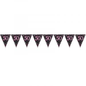 Vlaggenlijn 50 Sparkling Celebration Pin [Party Supplies]