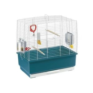 Ferplast Rekord 3 - Cage à oiseaux 49 x 30 x h 48,5 cm