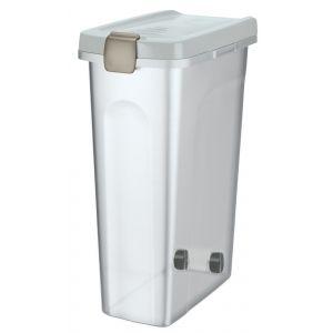 Trixie 24668 Barril Para Alimento 40L/27X61X45Cm Transp-Blanc