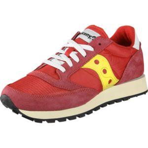 Saucony Jazz Original Vintage chaussures Hommes rouge jaune T. 41,0