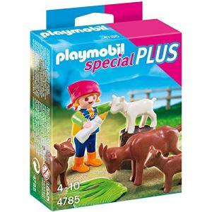Playmobil 4785 Special Plus - Fillette avec ses chèvres