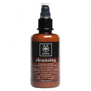 Apivita Cleansing - Lait nettoyant peaux normales/sèches