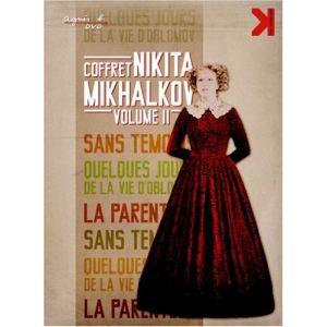 Coffret Nikita Mikhalkov - Volume 2 : Sans témoins + La parentèle + Quelques jours de la vie d'Oblomov