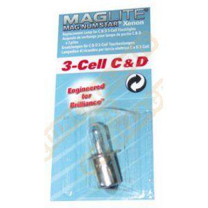 Maglite Lot de 2 ampoules Mag-Num Star Krypton 3-cell D et 3-cell C - Ampoule