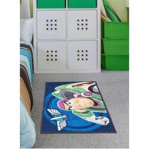 Unamourdetapis Tapis TOY STORY bleu 50 x 80 cm Tapis Enfants Plusieurs dimensions et couleurs disponibles