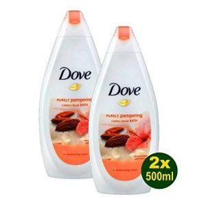 Dove Gel Douche 500 Ml Caring Bath Amande