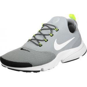 Nike Mens Presto Fly Wolf Grey White Mesh Trainers 41 EU