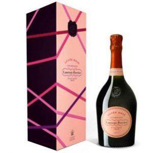 Laurent Perrier Cuvée Rosé Brut - Champagne Brut Rosé - Champagne - Vendu à l'unité - 1 X 75cl