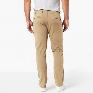 DOCKERS Pantalons Alpha Khaki Smart 360 Flex Skinny L30 - New British Khaki - W31-L30