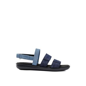 Geox Sandales respirantes en cuir Jearl Bleu - Taille 39