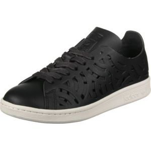 Adidas Stan Smith Cutout, Chaussures de Tennis Femmes, Noir (Core Black/Core Black/Off White Core Black/Core Black/Off White), 38 2/3 EU