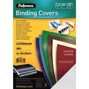 Fellowes 100 couvertures à relier Delta A4